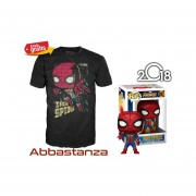 Iron Spider Y Playera De Iron Spider Funko Pop Avengers Infinity War