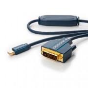 Clicktronic Cavo Mini DisplayPort (Thunderbolt) a DVI-D 24+1 5m Alta Qualità