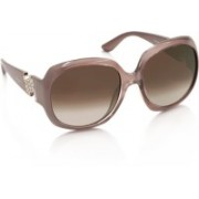 Salvatore Ferragamo Over-sized Sunglasses(Brown)