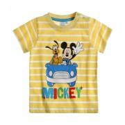 Tricou bebe Mickey yellow