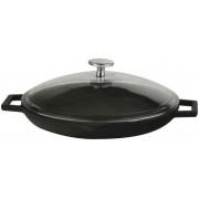 Tigaie cu capac Lava LVECOTV30K3, 30 cm (Negru)