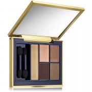 Estee Lauder Sombra de ojos Pure Color Envy Sculpting Eyeshadow, paleta de 5 colores, 7 g, en Fiery Saffron de Estée Lauder