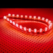 Tub flexibil LED Lamptron FlexLight Standard 24x LED Fire Red