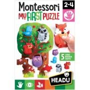 Montessori Primul Meu Puzzle-Padure Headu