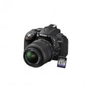 Nikon D5300 Kit Fotocamera Reflex D5300 + 18-55 Mm Vr Ii + Sd 8 Gb