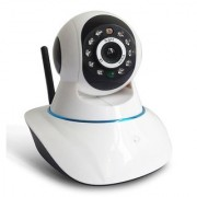 ZEMINI Wireless HD CCTV IP wifi Camera | Night vision Wifi 2 Way Audio 128 GB SD Card Support for OPPO JOY 3