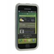 Silicone Case for Samsung I9000 Galaxy S - Samsung Soft Cover (White)