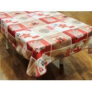 Mantel navideño - Modelo NAVIDAD P09 - Rojo