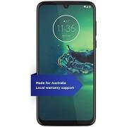 """Motorola Moto G8+ Plus con NFC (64GB, 4GB) 6.6"""", Snapdragon 665, cámara de 48 MP, batería 4000 mAh, Dual SIM GSM desbloqueada (AT&T/T-Mobile/Metro/StraightTalk) XT2019-2 Versión internacional (azul cósmico)"""