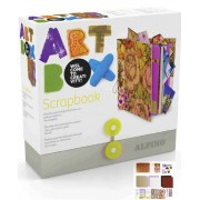 Cutie cu articole creative ALPINO ArtBox Scrapbook