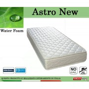 ErgoRelax Materasso Water Foam Mod. Astro New da Cm. 120x190/195/200 Poliuretano Espanso Altezza Cm. 20 - Ergorelax