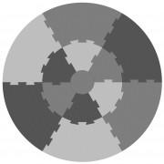 Sebra Puzzel speelmat pigeon grey
