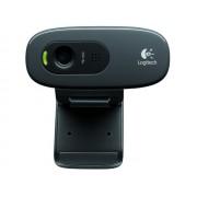 Logitech HD Webcam C270 webkamera beépített mikrofonnal - fekete