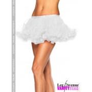 Sottogonna corto bianco per costumi Puffy