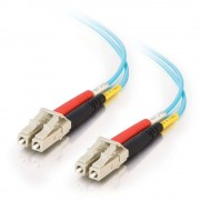 C2G LC-LC 10Gb 50/125 OM3 Duplex Multimode PVC Fiber Optic Cable