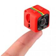 Mini Camera Spion iUni SQ11 Full HD 1080p Audio Video Night Vision TV-Out Red Bonus Bratara Roca Vulcanica unisex