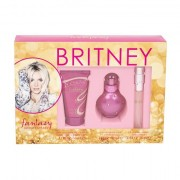 Britney Spears Fantasy confezione regalo Eau de Parfum 30 ml + Eau de Parfum 10 ml + lozione per il corpo 50 ml Donna