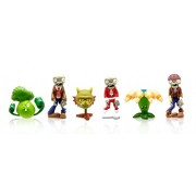 "Plants vs Zombies 2"" Peashooter, Mummy Zombie, Walnut, Sunflower, Space Zombie and Pirate Zombie (6-"