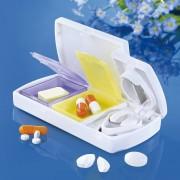 Caseta pentru medicamente cu taietor