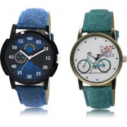The Shopoholic Black Blue White Combo New Collection Black And Blue And White Dial Analog Watch For Boys And Girls Mens Watches For Men