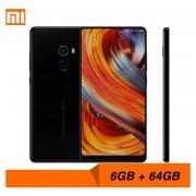 Celulares Xiaomi Mi Mix 2 Smartphone Mix2 6GB RAM 64GB ROM-Negro