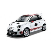 Bburago 1:24 Scale Race Abarth 500 Assetto Corse Diecast Vehicle [Parallel Import Goods]