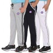Vimal-Jonney Multicolor Cotton Blended Trackpants For Boys(Pack Of 3)