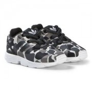adidas Originals Print ZX Flux Sneakers Grey Camo Barnskor 38 (UK 5)