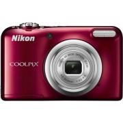 Nikon Máquina Fotográfica Compacta Coolpix A10 (Vermelho - 16.1 MP - ISO: 80 a 1600 - Zoom Ótico: 5x)
