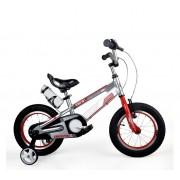 """Dječji bicikl Space aluminij 12"""" sivi"""