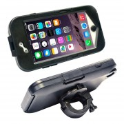 ABS Duro Caso Bicicleta / Bike Holder Para El IPhone 6 Plus (negro)