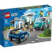 Lego set de construcción lego city estación de servicio 60257