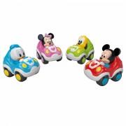Masinuta trage si elibereaza 4 variante Disney Baby Mickey si Minnie Mouse