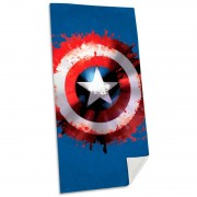 Marvel Captain America cotton beach Handduk