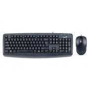 Tastatura+Miš USB YU Genius KM-130, Crna *