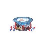 Piscina De Bolinha Infantil Homem Aranha Com 100 Bolinhas Coloridas
