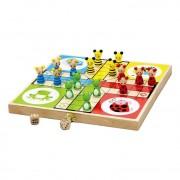 New Classic Toys Houten Ludo Mens Erger Je Niet Spel