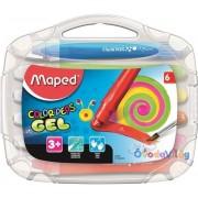"""Zsírkréta 6db-os MAPED """"Color Peps"""" kitekerhető"""