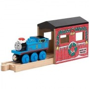Thomas & Friends Wooden Railway - Holiday Tunnel with Exclusive Christmas Thomas