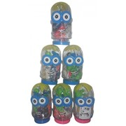 Wise Guys Birthday Party Return Gifts Unique Play Dough Clay with Container for Kids - Pack of 6