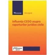 Influenta CEDO asupra raporturilor juridice civile - Gina Ignat