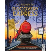 All Aboard the Discovery Express: Open the Flaps and Solve the Mysteries, Hardcover/Emily Hawkins