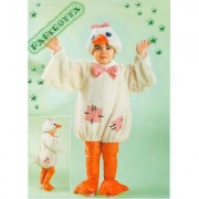 "Costume Papera ""Paperotta"" tg. 1/2 anni"
