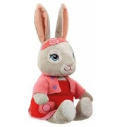 Peter Rabbit Talking Plush Soft Toy Rabbits' Friend Lily Bobtail in Platform Box