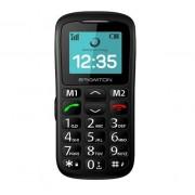 """Brigmton BTM-11 cellulare 4,32 cm (1.7"""") 85 g Nero Telefono per anziani"""