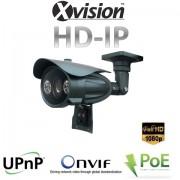 Full HD IP varifokální kamera s 70m nočním viděním, PoE