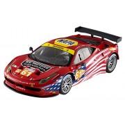 Mattel Hot wheels 2012 - Ferrari 458 Italia GT2 AF Corse, Red BCT78 1/18 Scale Diecast Model Toy Car