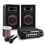 Electronic-Star DJ PA комплект Bass Noon с мощност 600 W (PL-10003520-2)