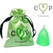 De Groene Cup, Model V, Voor wie voor het eerst gaat menstrueren