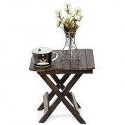 Shilpi Tal-20 Solid Wood Side Table(Finish Color - Matte Finish)